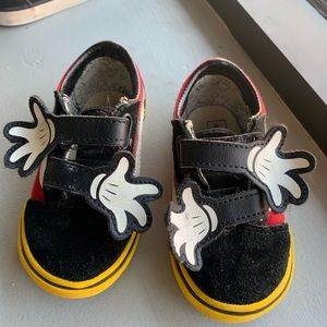 Limited Edition Mickey Mouse Vans toddler 7